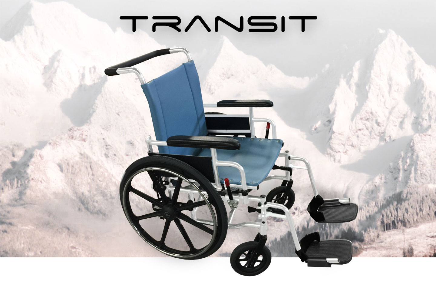 Our NEW Transit Wheelchair!